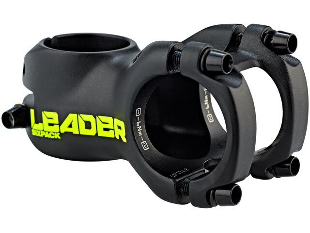 Sixpack Leader Vorbau Ø31,8 mm black/neon-yellow